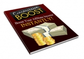 Commission Boost eBook with Private Label Rights