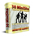 30 MiniSite Templates Template with Master Resale Rights