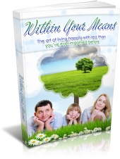 Within Your Means eBook with Master Resell Rights