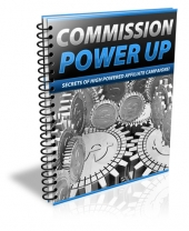 Commission Power Up eBook with Private Label Rights