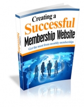 Creating a Successful Membership Website eBook with Master Resell Rights