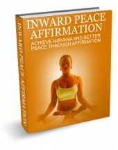 Inward Peace Affirmation eBook with Master Resell Rights