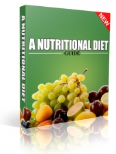 A Nutritional Diet Guide eBook with Private Label Rights