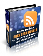 How to be a Rock Star Blogger eBook with Personal Use Rights