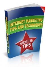 Internet Marketing Tips-Let eBook with Giveaway Rights