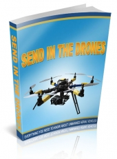 Send In The Drones eBook with private label rights