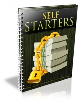 Self Starters eBook with Private Label Rights