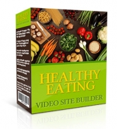 Healthy Eating Video Site Builder Software with private label rights