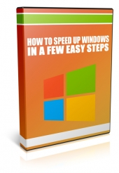 How To Speed Up Windows In A Few Easy Steps Video with Master Resell Rights/Giveaway Rights