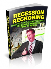 Recession Reckoning eBook with Master Resell Rights