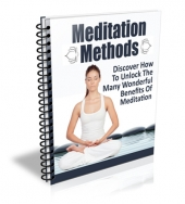 Meditation Methods eCourse eBook with Master Resell Rights