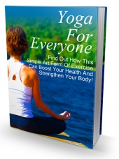 Yoga For Everyone eBook with Master Resell Rights