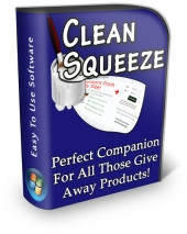 Clean Squeeze Software Software with Private Label Rights