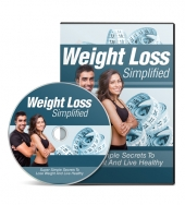 Weight Loss Simplified Video with Master Resell Rights/Giveaway Rights