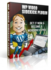 WP Video Sidekick Plugin Software with Master Resell Rights
