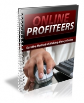 Online Profiteers eBook with Private Label Rights