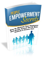 People Empowerment Secrets eBook with Master Resell Rights