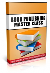 Book Publishing Master Class Video with Private Label Rights