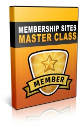 Membership Sites Master Class Video with Private Label Rights