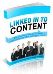Linked Into Content eBook with Private Label Rights