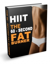 HIIT - The 60-Second Fat Burner eBook with private label rights