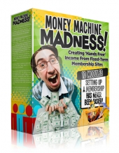 Money Machine Madness Video with Personal Use Rights