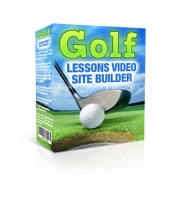 Golf Lesson Video Site Builder Software with Master Resell Rights