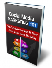 Social Media Marketing 101 eBook with Private Label Rights