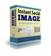 Instant Social Image Plugin Software with Personal Use Rights