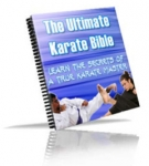 The Ultimate Karate Bible eBook with private label rights