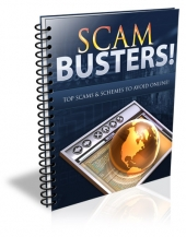 Scam Busters Report eBook with Private Label Rights