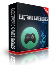 Electronic Games Riches Video with Resell Rights