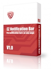 EZ-Notification Bar Maker Software with private label rights