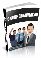 Online Organization eBook with private label rights