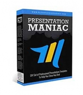 Presentation Maniac Graphic with Personal Use Rights