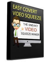 Covert Video Squeeze Page Creator Software with Resell Rights