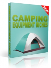 Camping Equipment Riches Video with Resell Rights