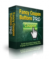 Fancy Coupon Buttons Pro eBook with Master Resell Rights