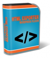 HTML Exporter WordPress Plugin Software with private label rights