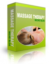 Massage Therapy Blog Template with private label rights
