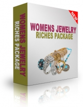 Womens Jewelry Riches Package Video with Resell Rights