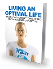 Living An Optimal Life eBook with Master Resell Rights