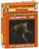 Big Book of Puppy Names eBook with Resell Rights