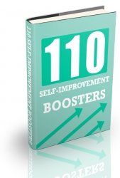110 Self-Improvement Boosters eBook with Private Label Rights