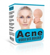 Acne Video Site Builder Software with private label rights