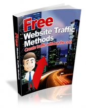 Free Website Traffic Methods eBook with Master Resell Rights