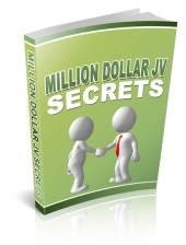 Million Dollar JV Secrets eBook with Resell Rights