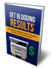 Get Blogging Results eBook with Master Resell Rights