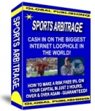 Sports Arbitrage eBook with private label rights
