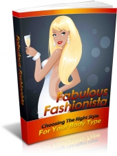 Fabulous Fashionista eBook with Master Resell Rights